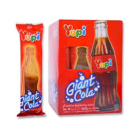 YUPI呦皮大可樂QQ糖32g