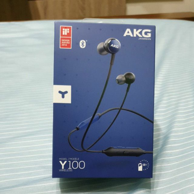 AKG Y100 WIRELESS無線藍芽耳道式耳機