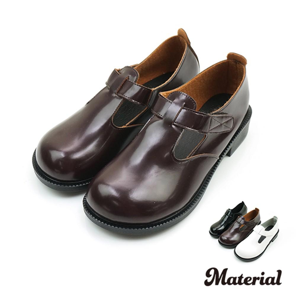 包鞋 大圓頭復古包鞋 T9878