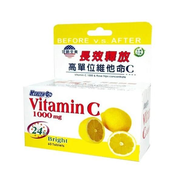 瑞昌藥局 healthgo 生達 靚漾c緩釋錠 vitamin c 1000mg 60錠 維他命