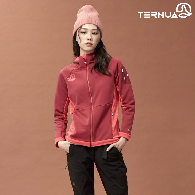 TERNUA 女 Power Stretch Pro 連帽保暖外套 1643522 AF