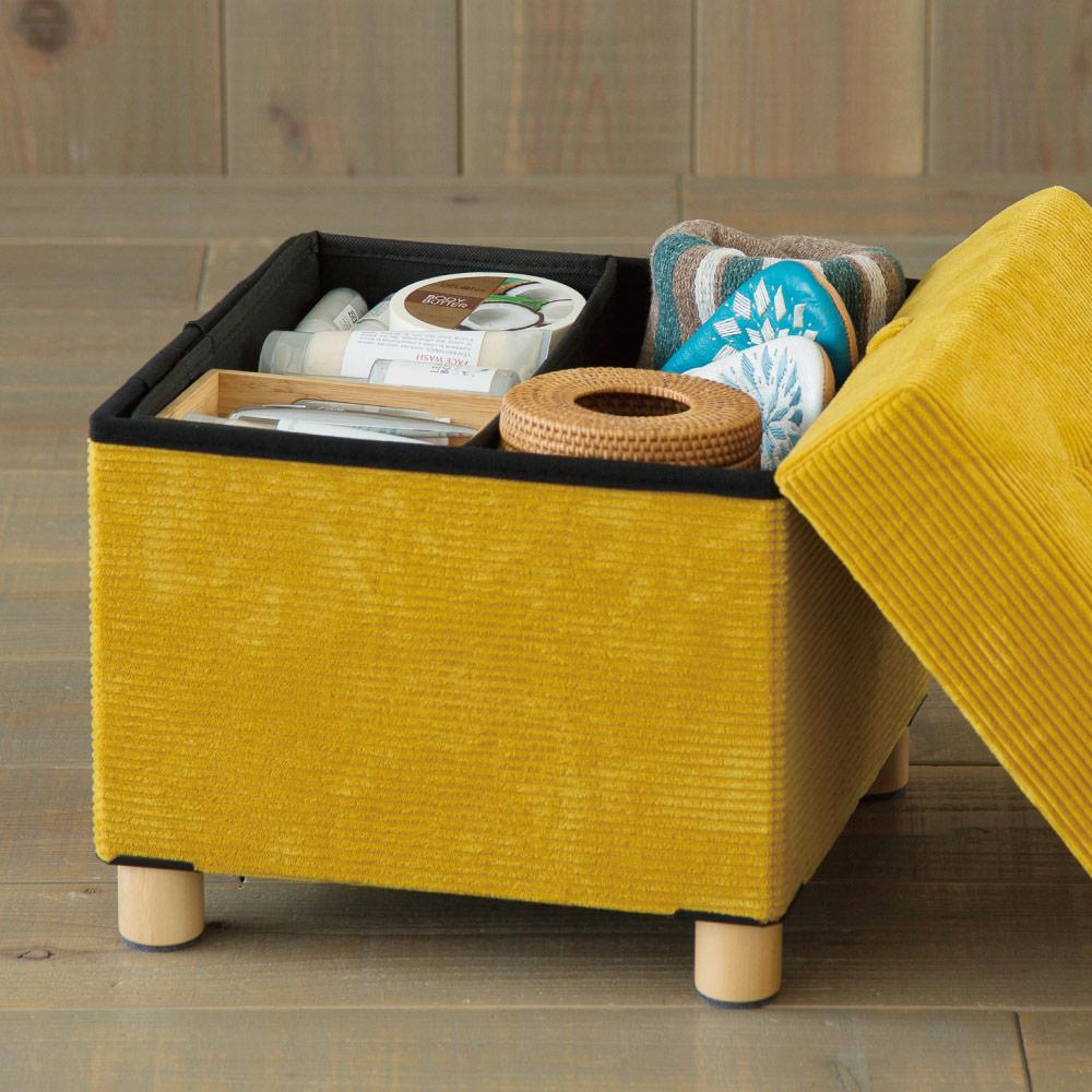 IRIS-折疊收納木腳椅凳 ASST-38 芥末黃色