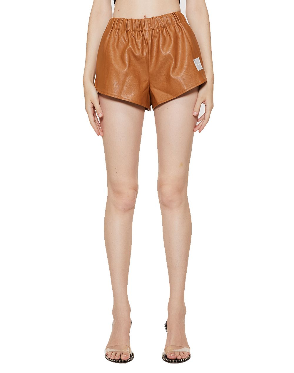 Y-Club Leather Short-YUYU