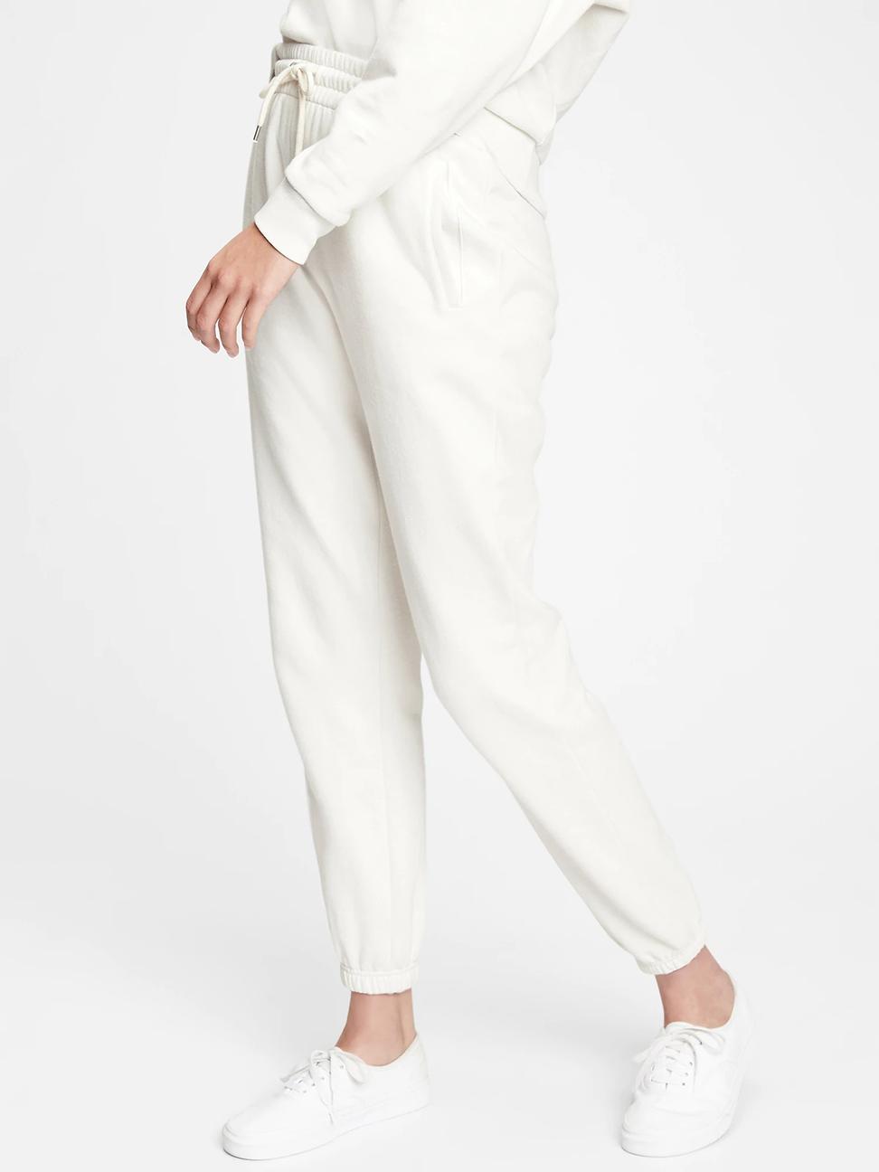 女裝 簡約風格鬆緊針織休閒褲