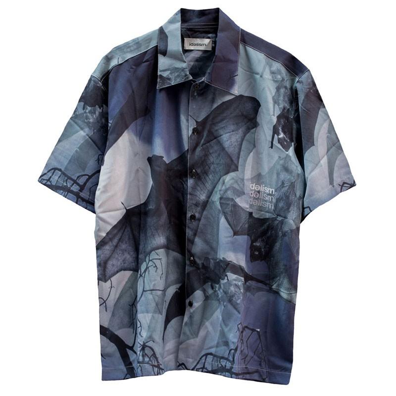 IDEALISM - ID20038 BAT SHIRT 蝙蝠 短袖襯衫 (黑色) 化學原宿