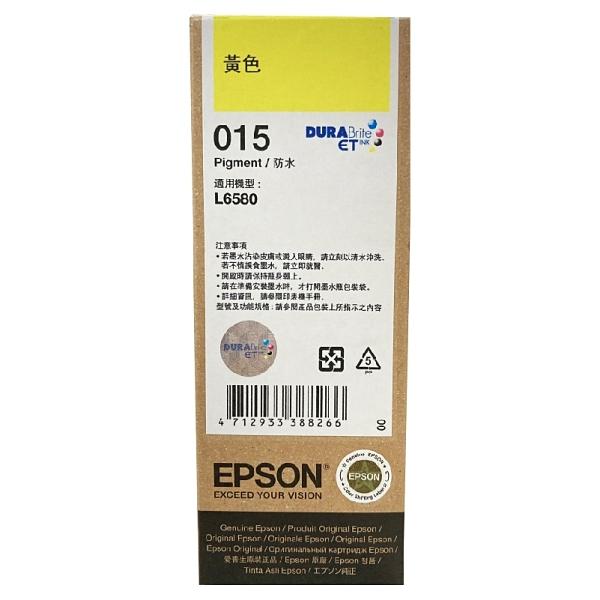 EPSON 原廠墨瓶 T07M T07M450 015 黃 適用於L6580