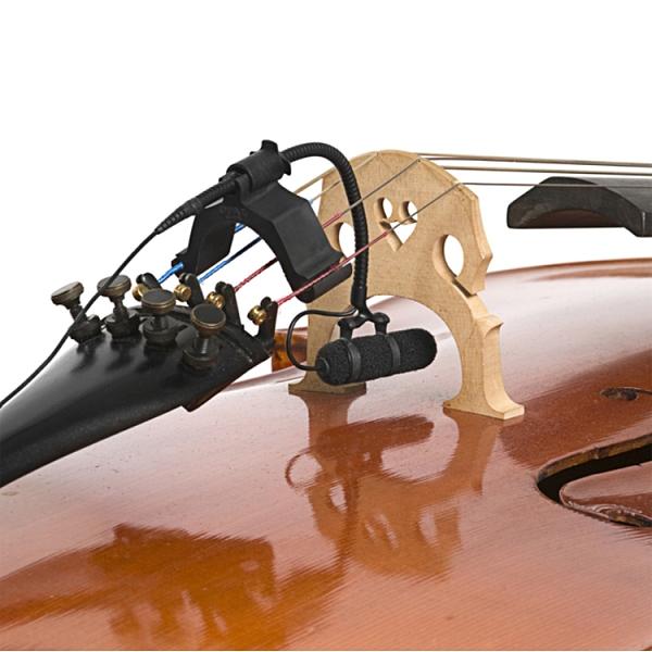 DPA 4099C 大提琴專用收音麥克風-鵝頸式專業級/具備大提琴專用固定夾/原廠公司貨