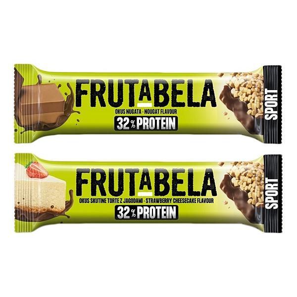 Frutabela 巧克力牛軋糖風味/草莓起司蛋糕風味 營養棒(40g) 款式可選【小三美日】