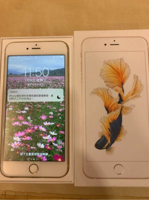 Apple iPhone6s Plus 5.5吋 64G 金色 功能均正常