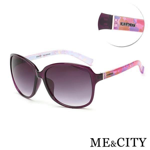 【SUNS】ME&CITY 歐美流行太陽眼鏡 大框顯小臉 精品時尚款 抗UV400 (ME 1220 H01)