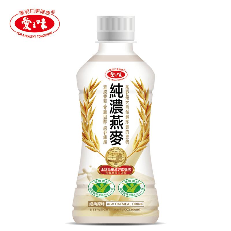 【愛之味】純濃燕麥(12 瓶)