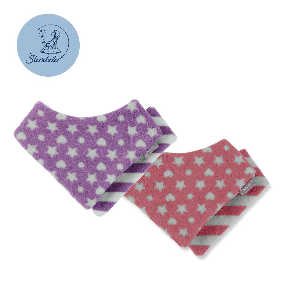 STERNTALER 心星雙面三角領巾  C-4101506
