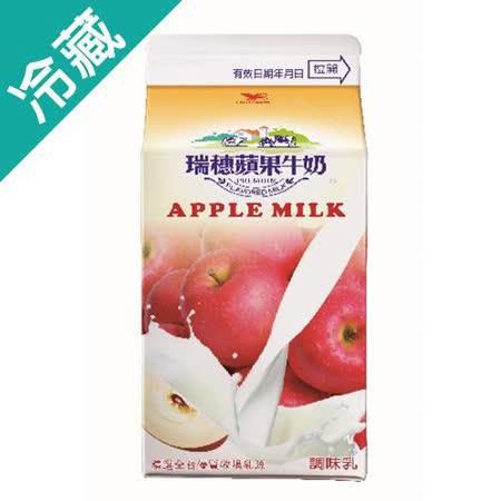 瑞穗蘋果調味乳400ml/瓶