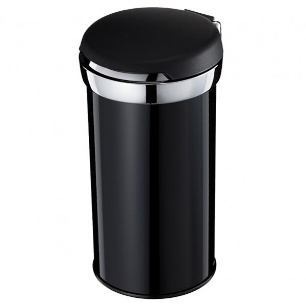 車之嚴選 cars_go 汽車用品【Fizz-1100】日本NAPOLEX 大型超大容量掀蓋式 鍍鉻煙灰缸 黑色