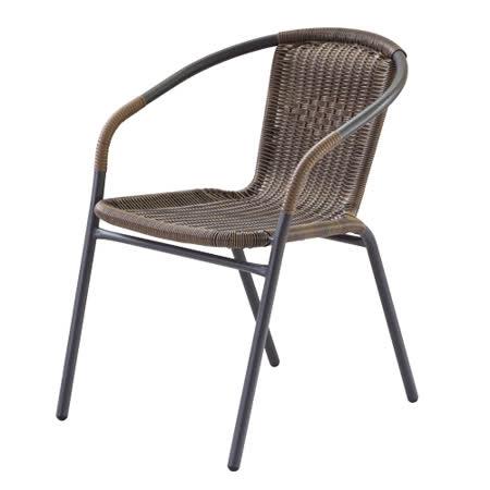 勞瑞藤編椅(58x56x72cm)