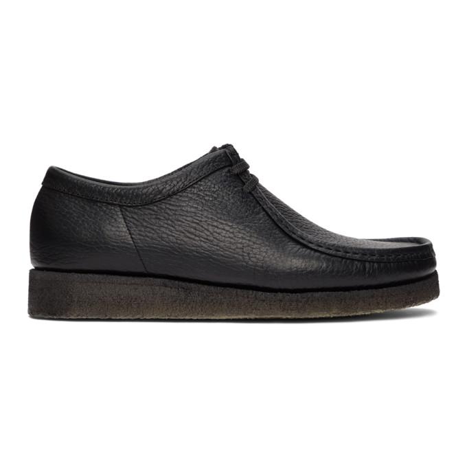 Padmore and Barnes 黑色 Original P204 莫卡辛鞋