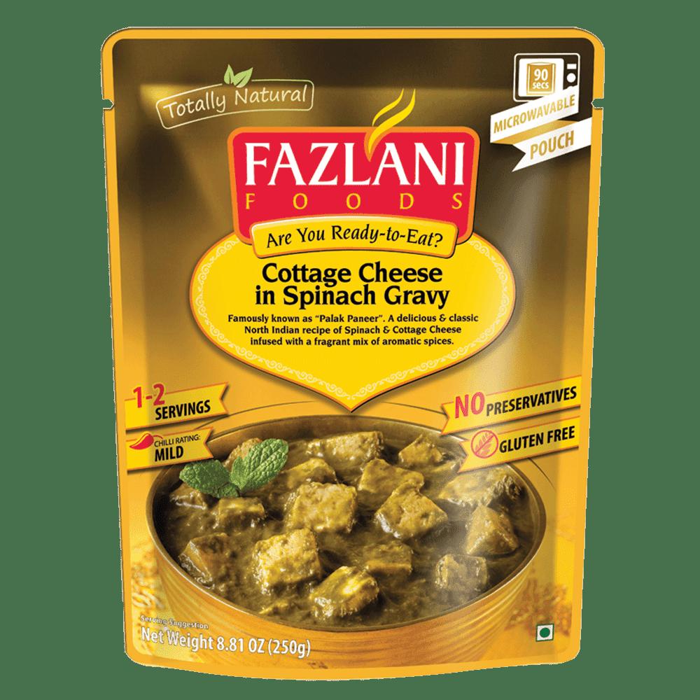印度Fazlani菠菜燴起司即食包 250g