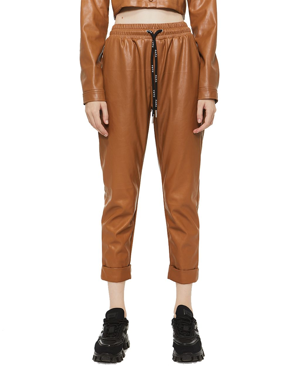 Not Your Bae Leather Pant-YUYU