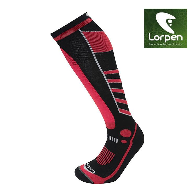 Lorpen T3 女Primaloft美麗諾羊毛滑雪襪S3WL(II) / 城市綠洲(保暖、舒適、滑雪、羊毛襪、西班牙)
