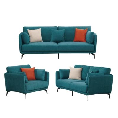 文創集 雪莉 現代透氣可拆洗棉麻布沙發組合(二色可選+1+2+3人座組合)-213x89x66cm免組