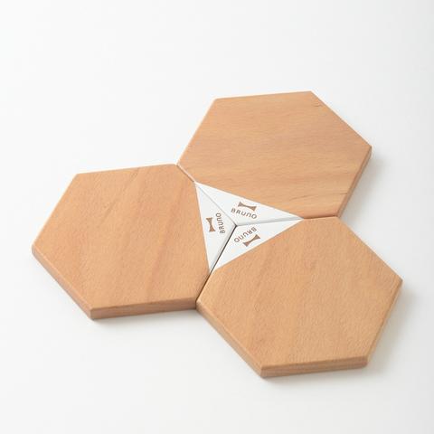 *BRUNO 原木磁吸式組合桌墊 BHK139-NW
