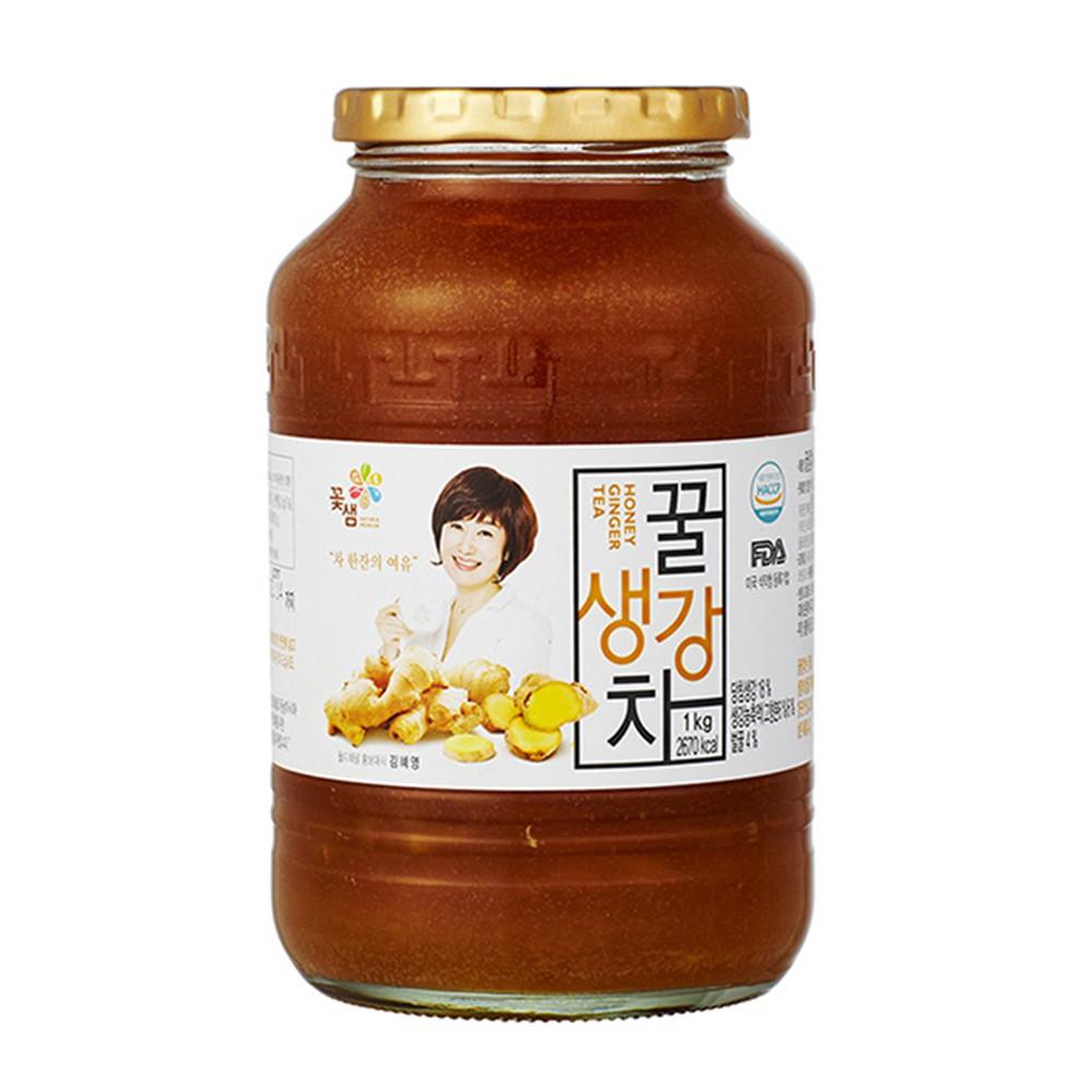 【韓味不二】花泉蜂蜜薑母茶1kg