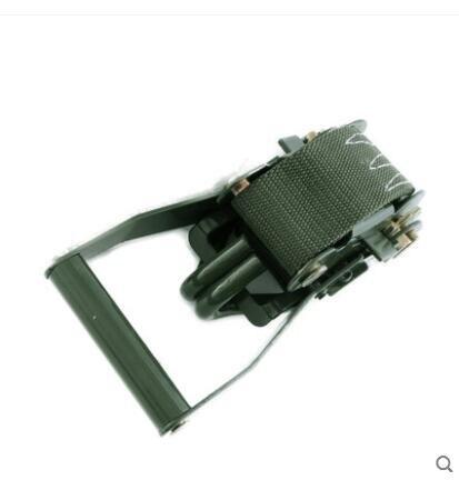 軍綠色汽車貨車緊繩器貨物捆綁帶收緊器繩緊固器拉緊器扎貨繩固定