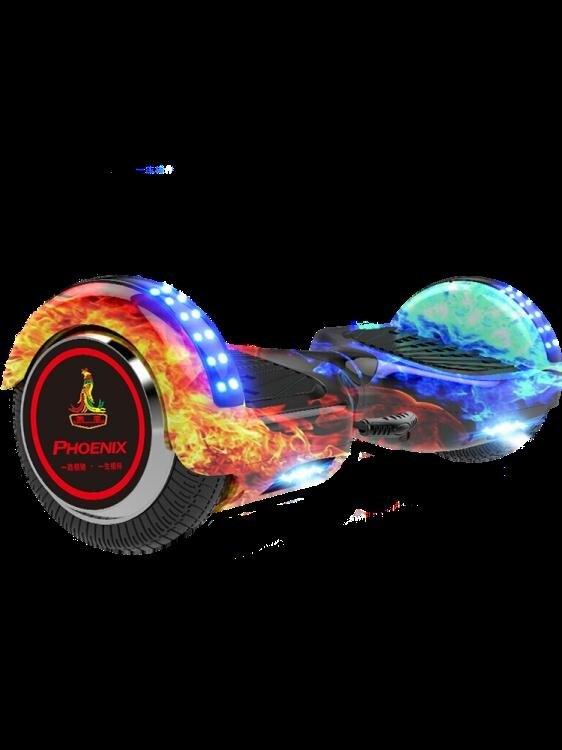 平衡車 鳳凰智能電動兩輪體感平衡車兒童8-12成年上班用雙輪代步自平行車