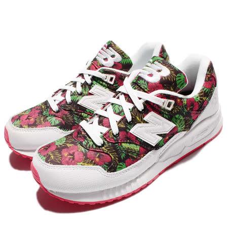 New Balance 休閒鞋 W530 復古 運動 女鞋 紐巴倫 經典款 舒適 穿搭 花卉 紅 綠 白 W530TCAB W530TCAB