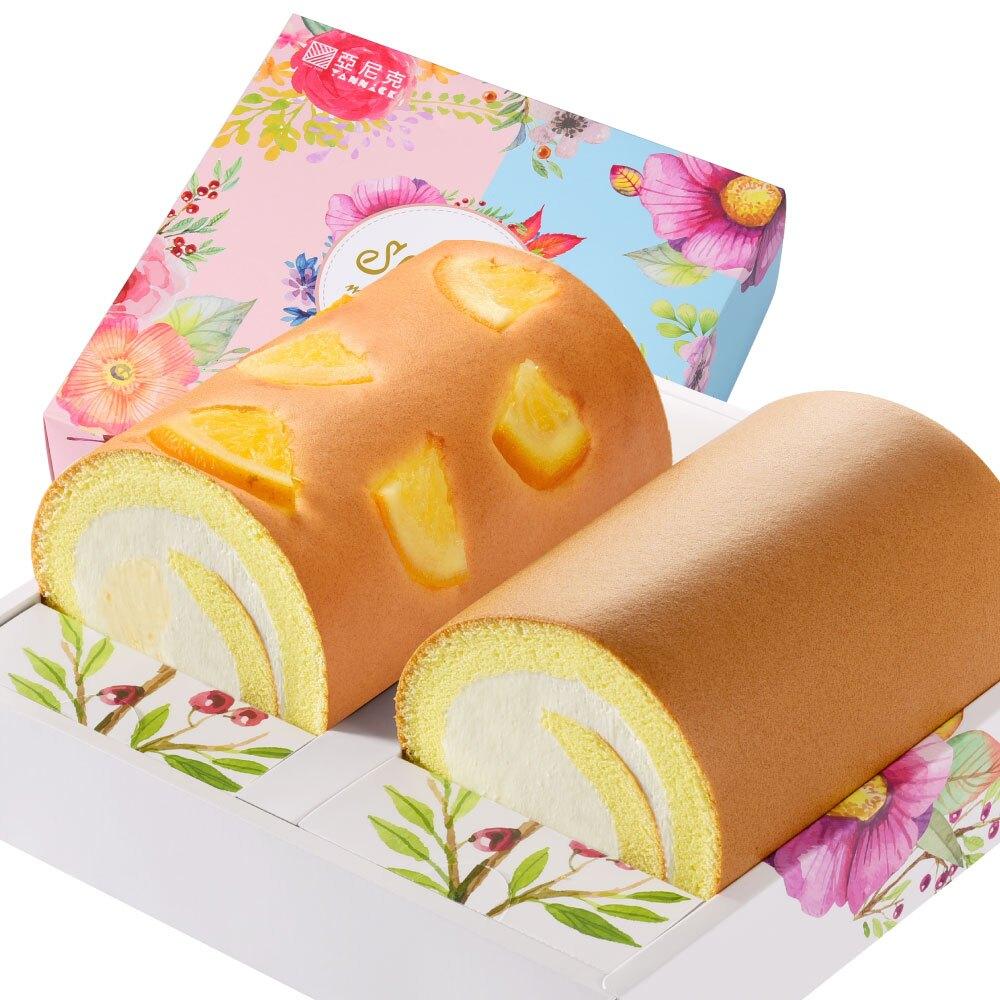 最強禮盒推薦 - 生乳雙捲禮盒(原味+大桔大利)【亞尼克】