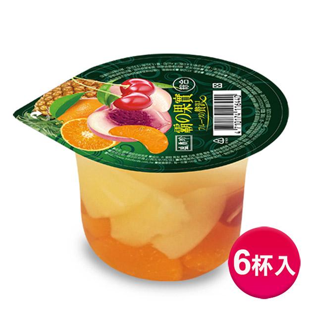 《盛香珍》霸果實綜合鮮果凍300gX6杯入(組)