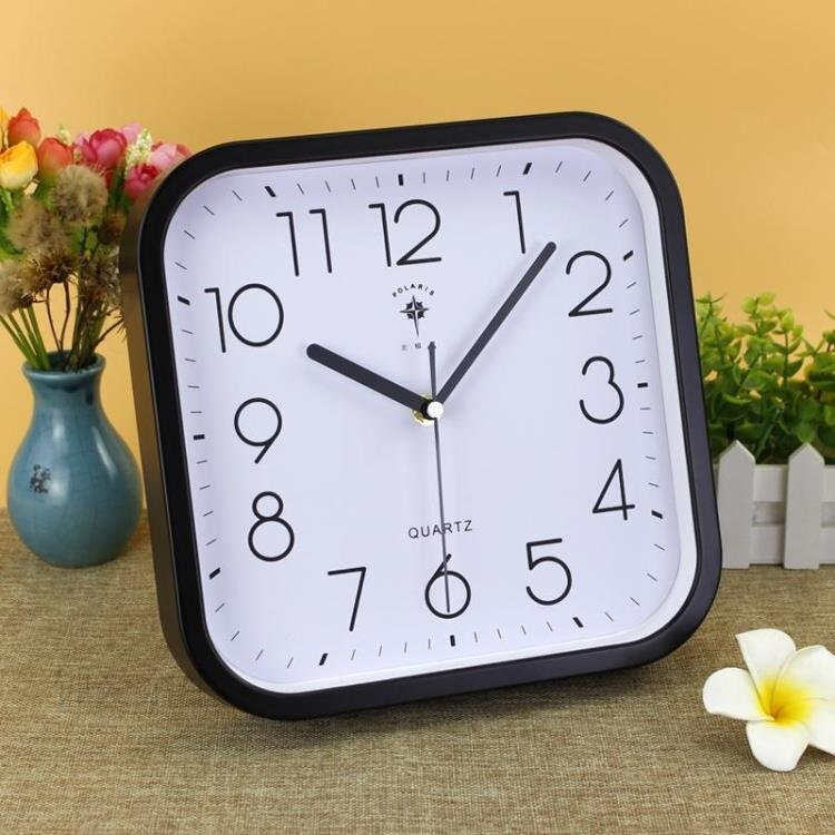 鐘擺件客廳靜音座鐘台鐘臥室創意床頭台式時鐘家用現代簡約大號表 創時代 新年春節 送禮