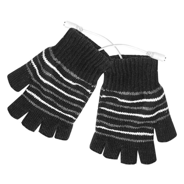 usb暖手套 USB電暖手套電熱手套充電電加熱手套玩游戲上網寫作業看書