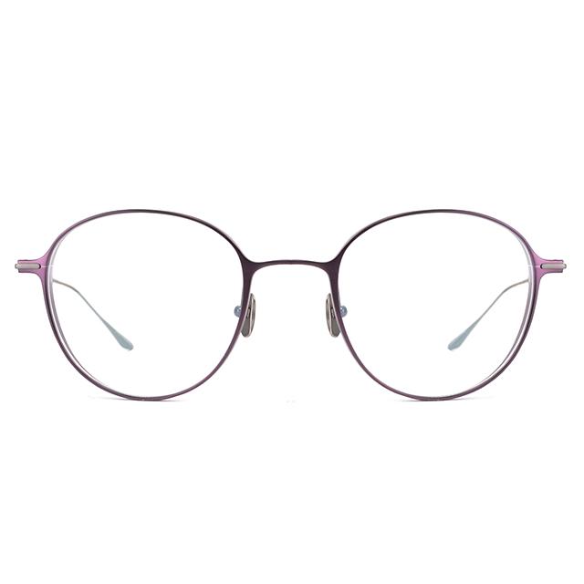 moi取意法語中的意涵-自我 / 純鈦光學眼鏡(紫色) T002_03