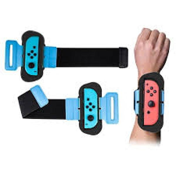 【3期零利率】全新 跳舞體感腕帶 for Switch 一組2入 穩固安裝 孔位精準 just dance