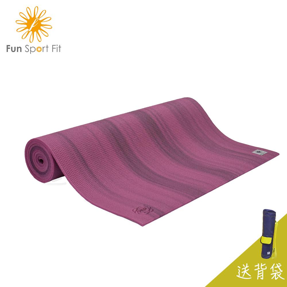 瓦妮莎-小漫步環保瑜珈墊-(6mm)送吉尼亞瑜珈背袋 Fun Sport fit