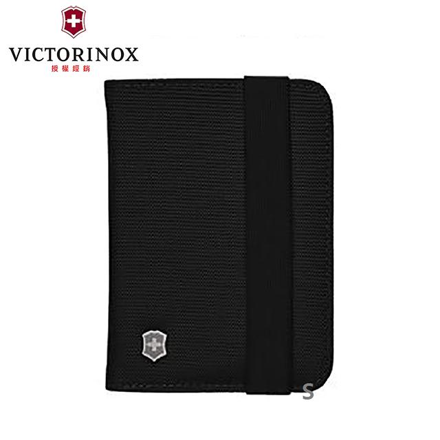 【VICTORINOX 瑞士維氏】TA 5.0單層護照包-黑(610606)