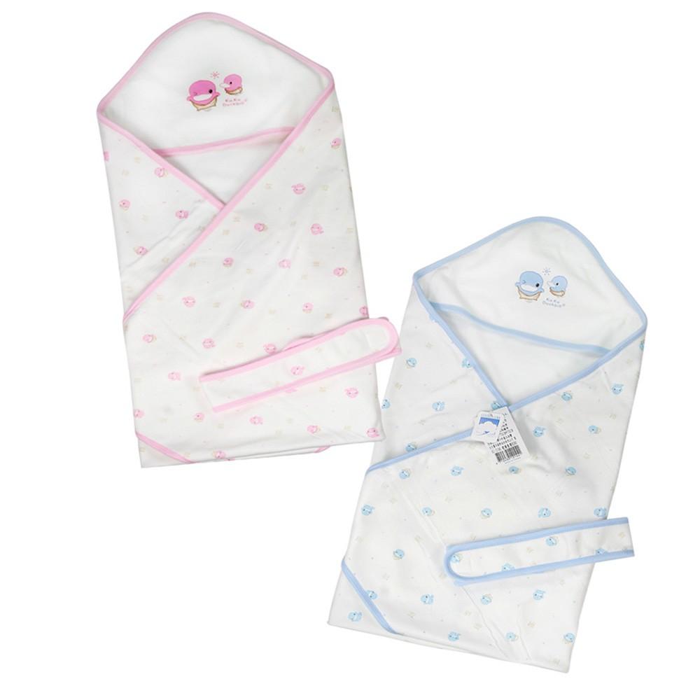KU.KU 酷咕鴨玩耍春夏包巾包覆寶寶 讓寶寶有安全感 娃娃購 婦嬰用品專賣店