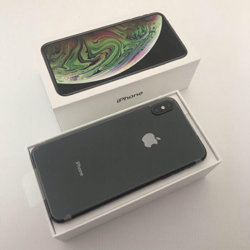 ★未拆封保一年★IPHONE XS MAX 64 64GB 64G 可刷卡分期/可無卡分期/可用舊機折抵交換買賣