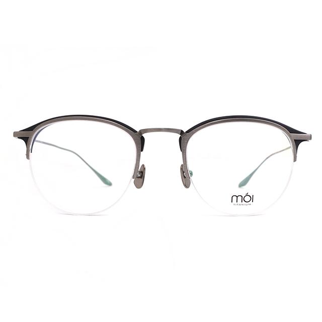 moi取意法語中的意涵-自我 / 純鈦光學眼鏡(黑色) T006_03