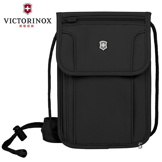 【VICTORINOX 瑞士維氏】TA 5.0 豪華RFID 隨身包 黑色(610603)