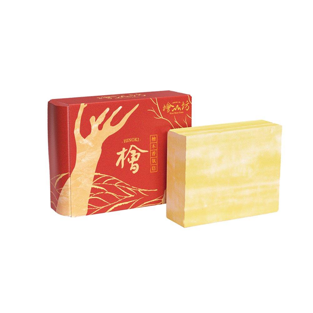 【檜山坊】檜木香氛滋養皂(3入)