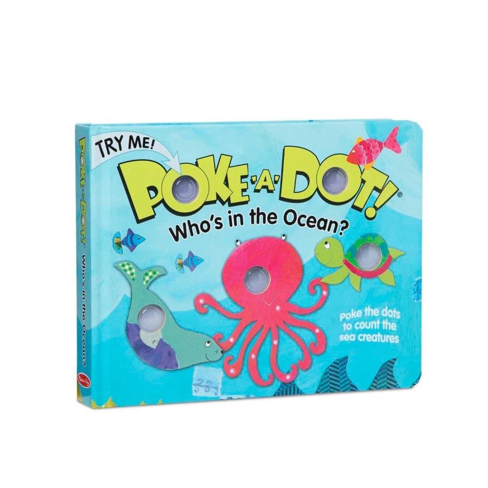 美國 瑪莉莎 Melissa & Doug 神奇泡泡書-誰在海洋裡?