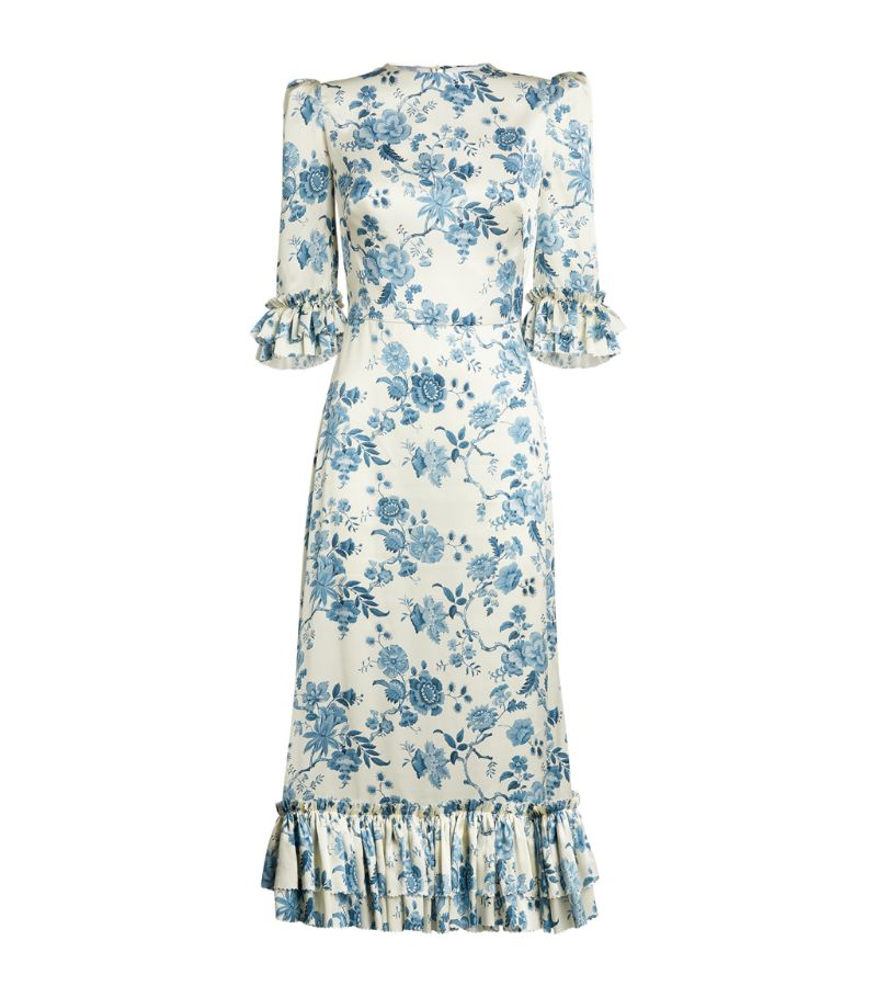 The Vampire'S Wife Floral Falconetti Dress
