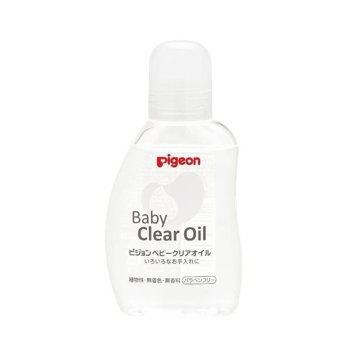 日本 Pigeon 貝親 嬰兒油(罐)80ml