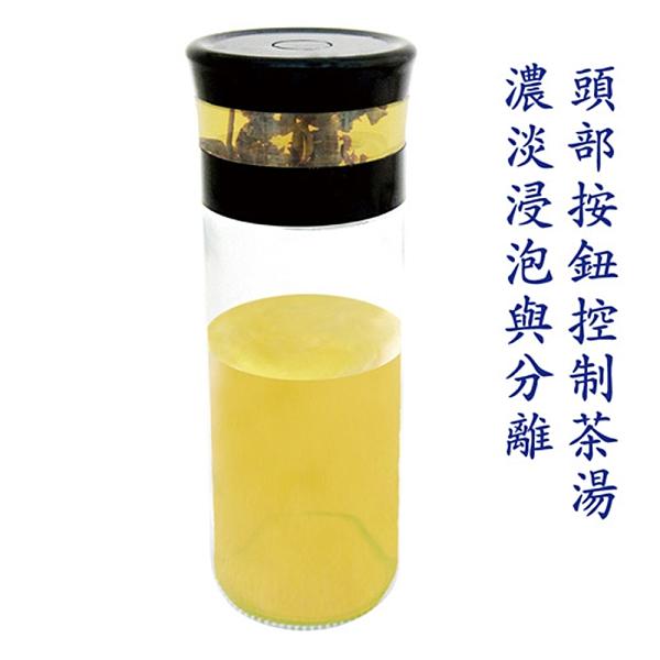 AKWATEK 典雅泡茶杯2入 AK-G181-P8