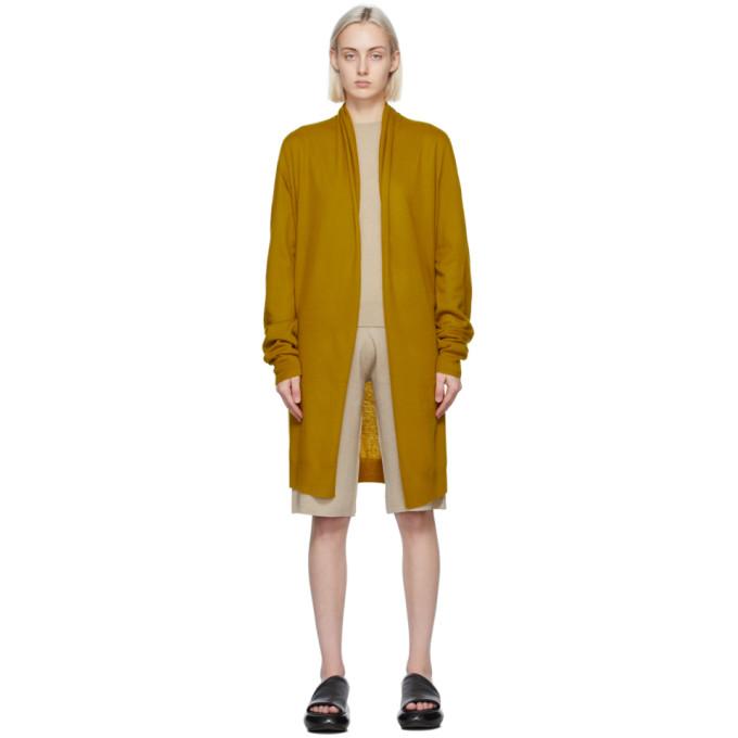Frenckenberger 黄色 Straight 羊绒开衫