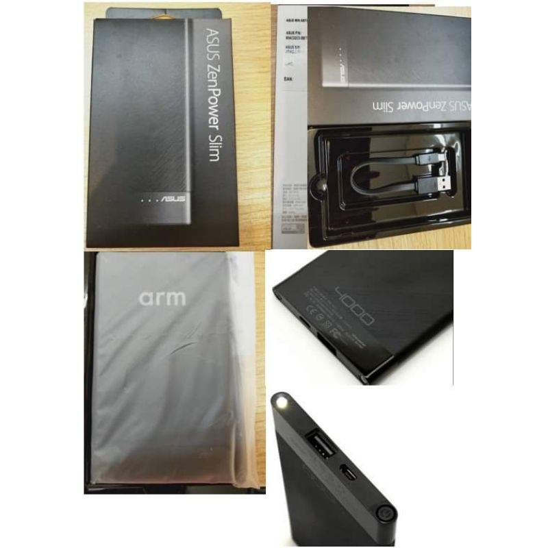華碩 ZenPower SLIM 行動電源 4000mAh