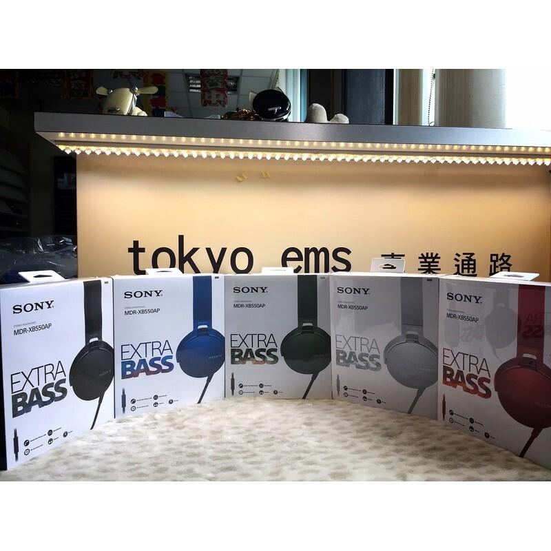 東京快遞耳機館  sony mdr-xb550ap 重低音耳罩耳機 mdr-xb450ap新款