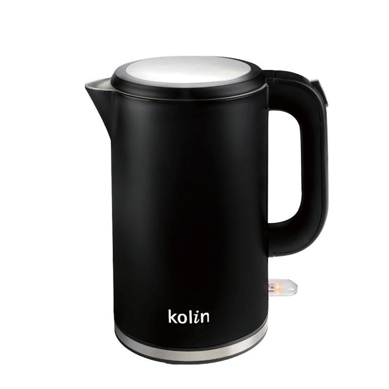 【歌林316不鏽鋼雙層防燙快煮壺】快煮壺 煮水壺 熱水壺 不鏽鋼壺 咖啡壺 電熱水壺 沖泡壺【AB364】